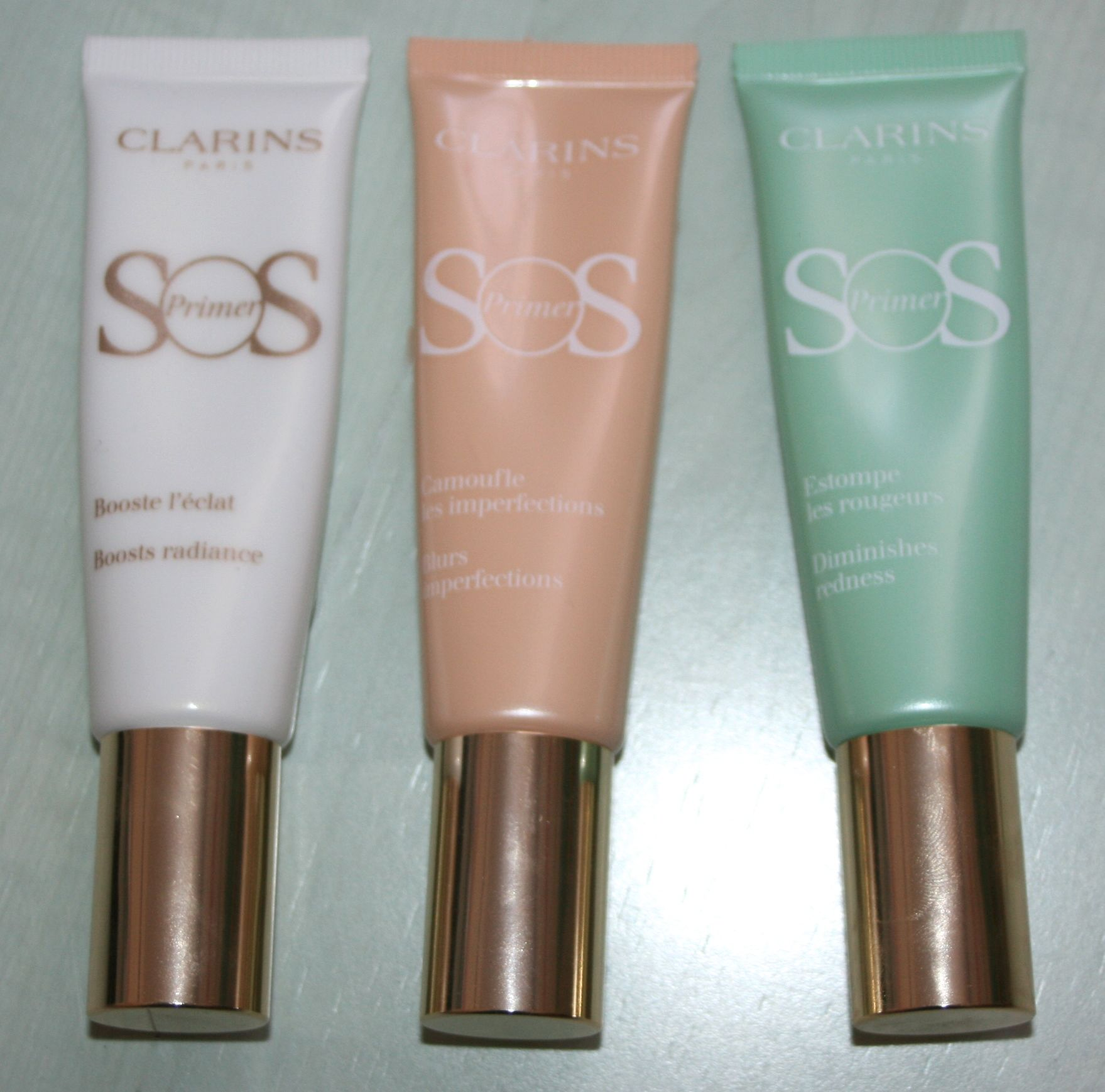 primers SOS Clarins
