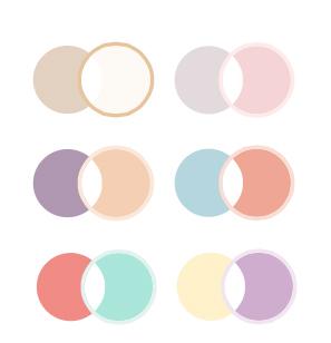 principe de colorimétrie maquillage