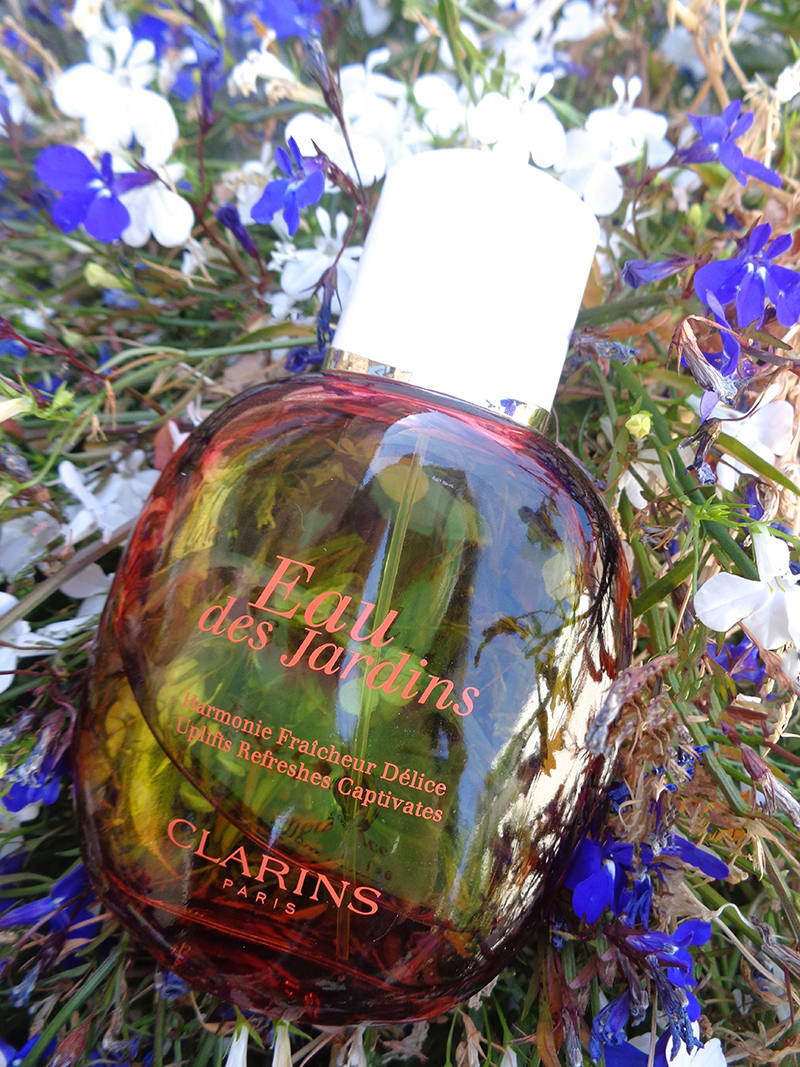 eau des jardins clarins