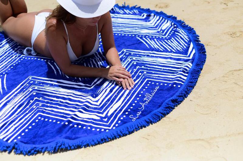 les antillaises serviette de plage
