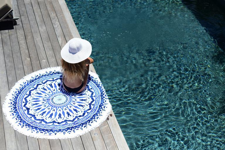 serviettes de plage les antillaises