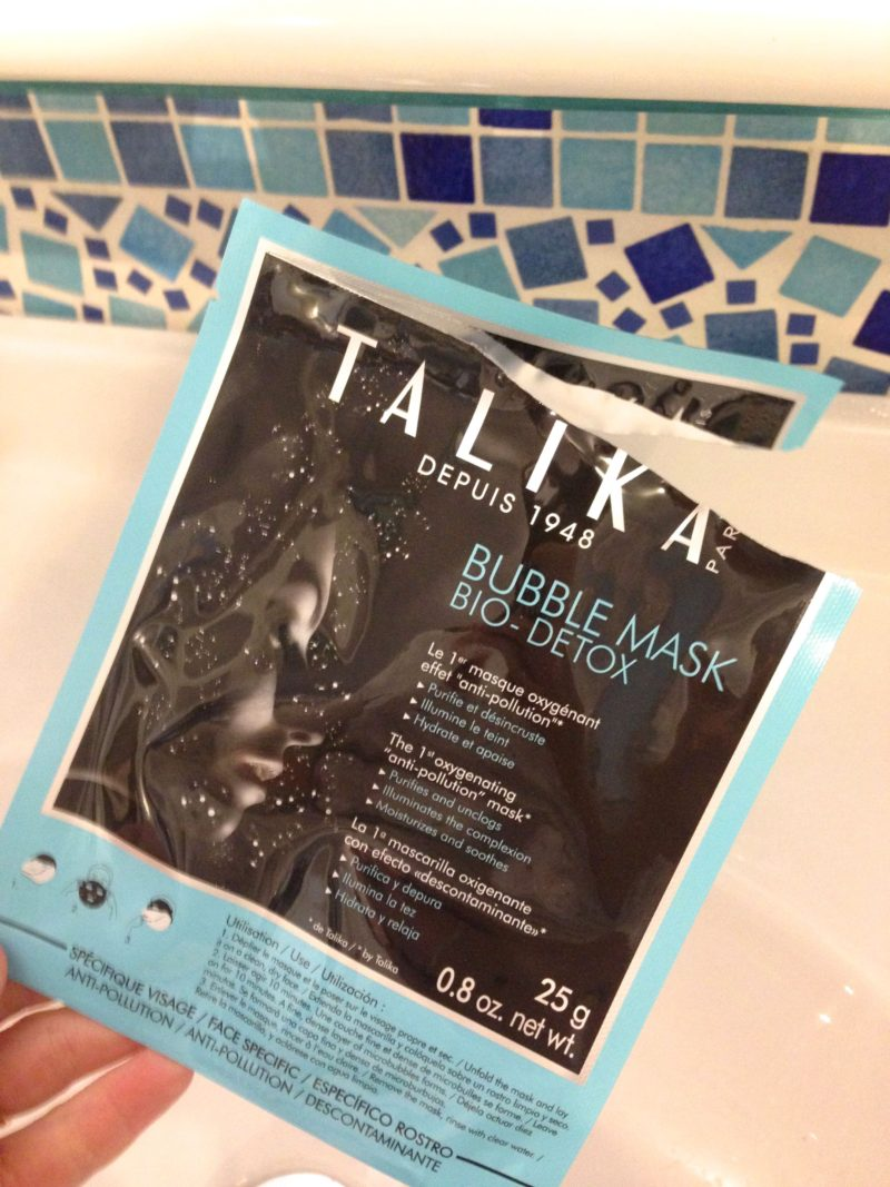 bubble mask bio-detox talika