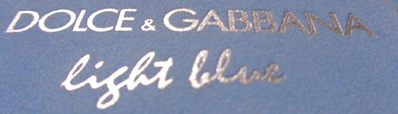 La légèreté du parfum Light Blue de Dolce and Gabbana