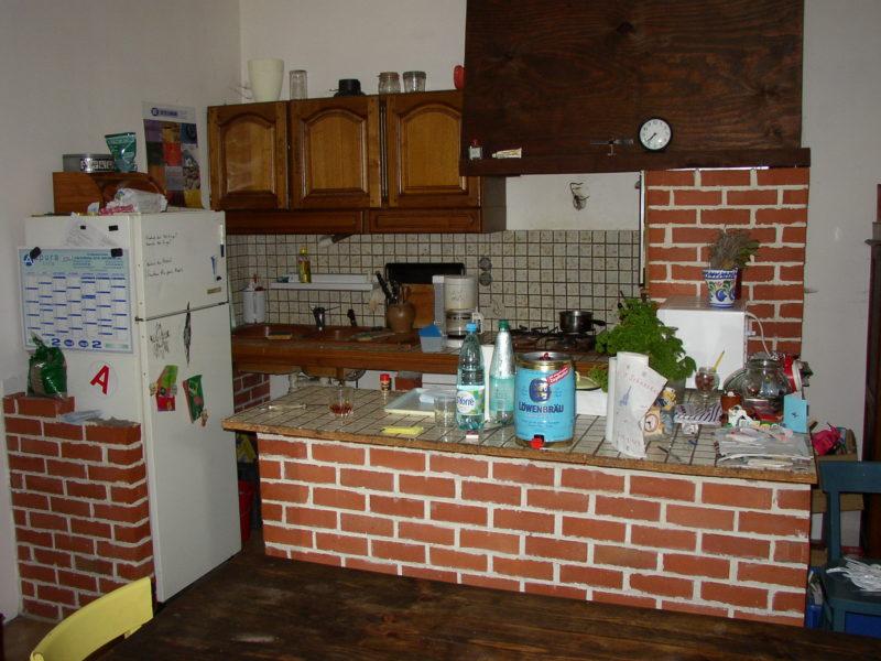La cuisine telle qu'on l'a vue lors de notre visite