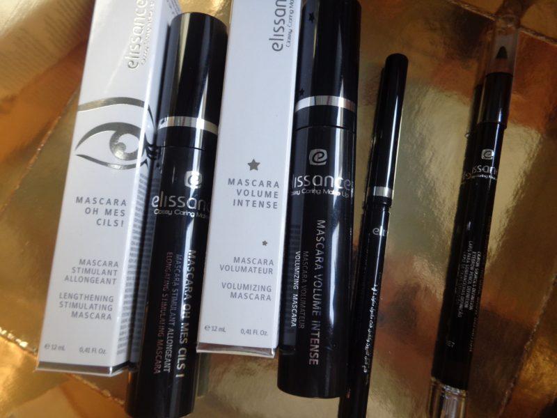 [Test] Mascaras & crayons Elissance