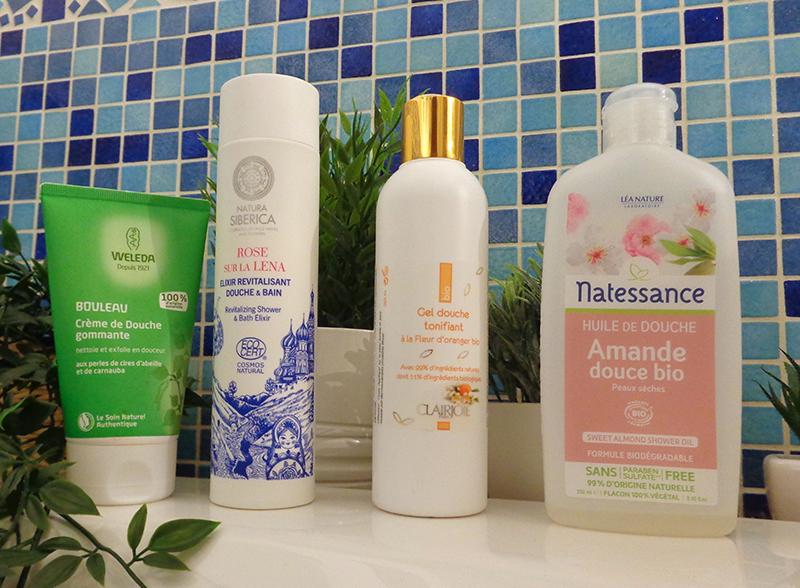 [Clean Beauty] Top 4 des gels-douches bios pour toute la famille