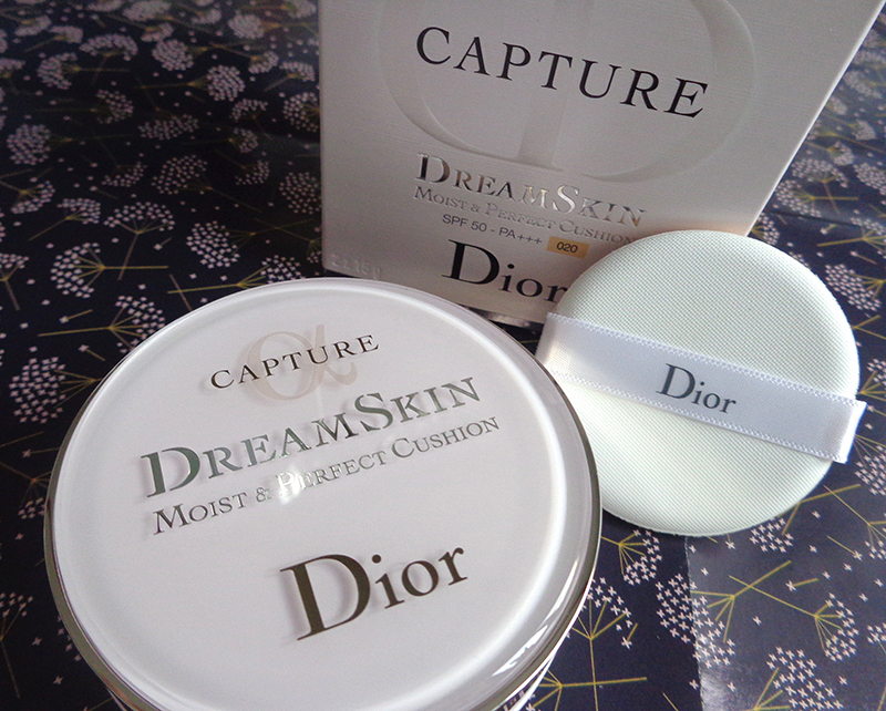 [Maquillage/soin] J'ai testé la Cushion Cream de Dreamskin de DIOR