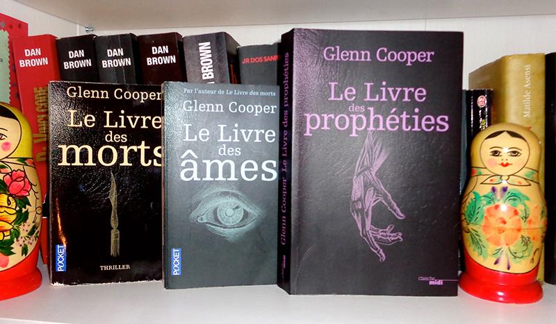 [Lecture] Le livre des morts, le livre des âmes et le livre des prophéties de Glenn Cooper