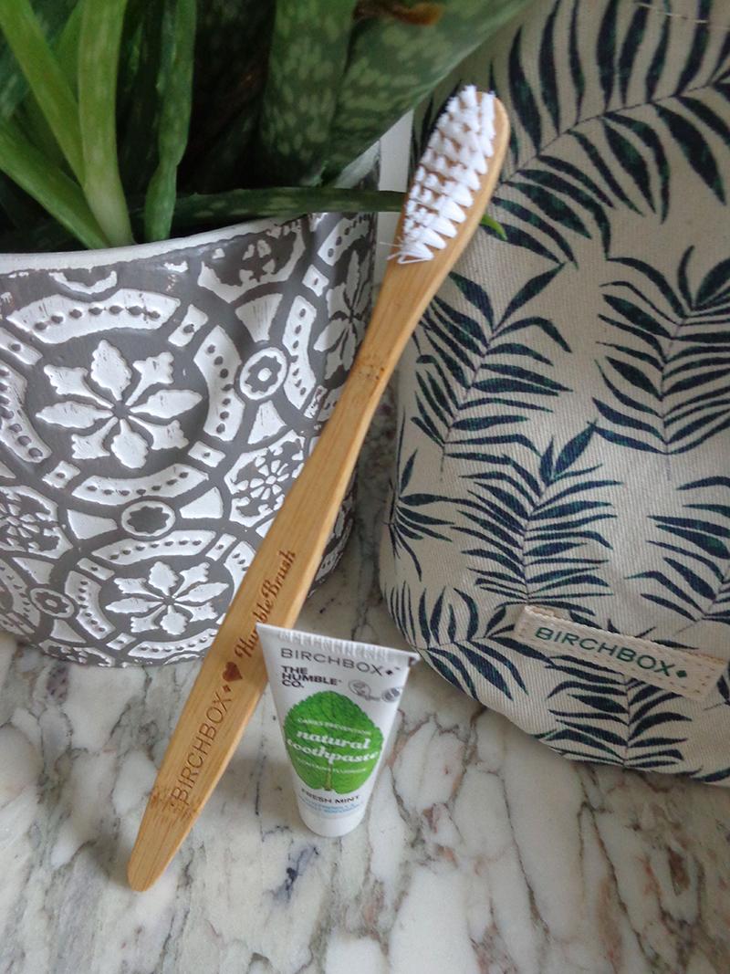 brosse à dent birchbox green