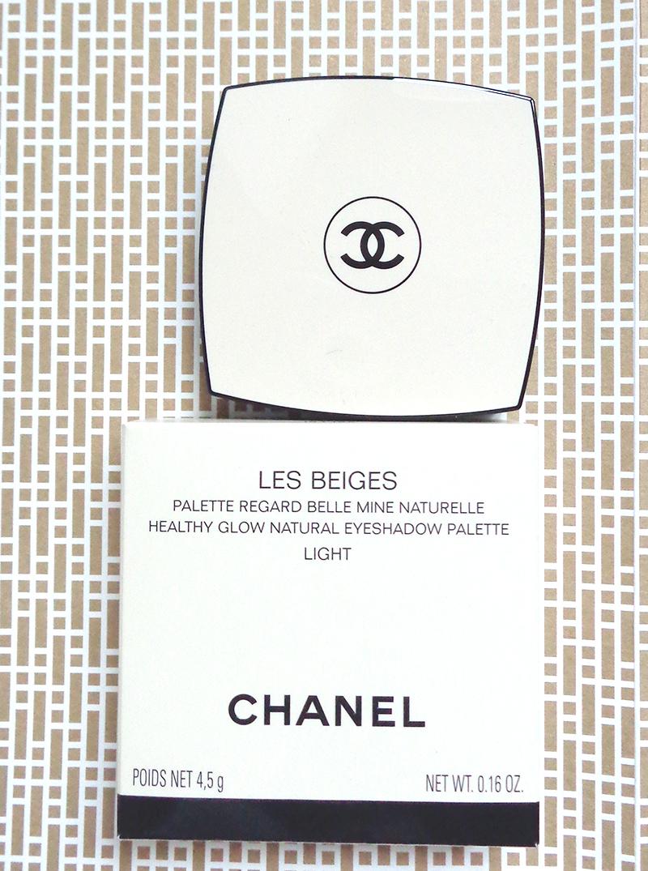 palette les beiges Chanel harmonie regard