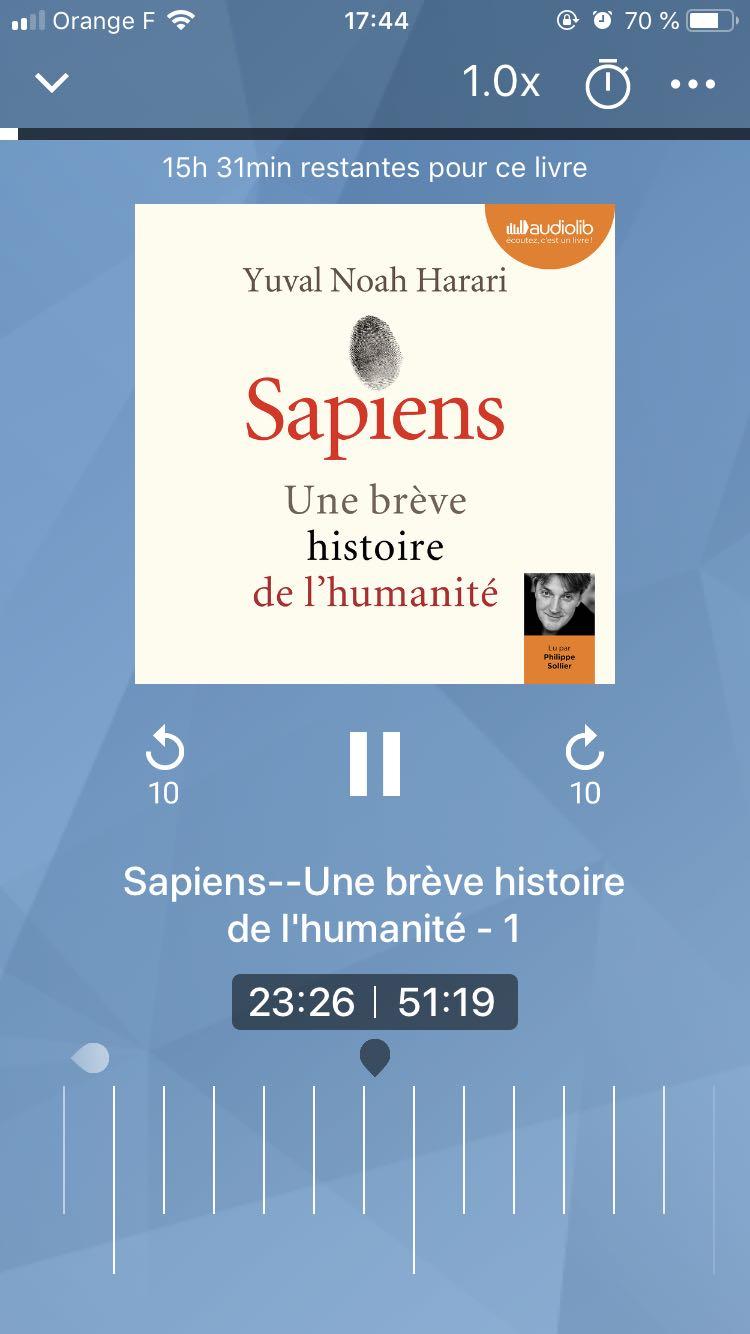 sapiens livre audio