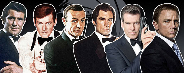 acteurs successifs james bond