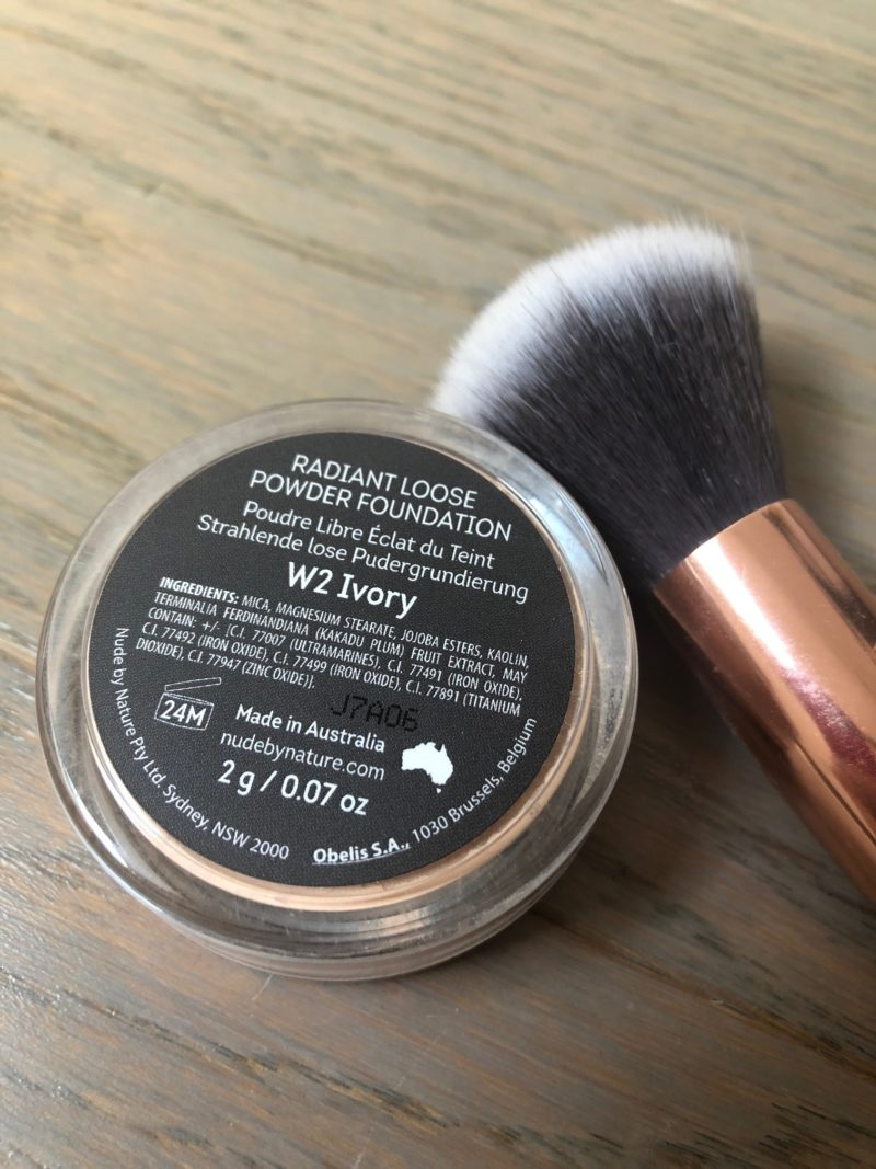 poudre libre fdt nude by nature Ivory