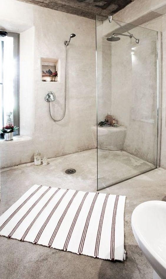 beton ciré salle e douche