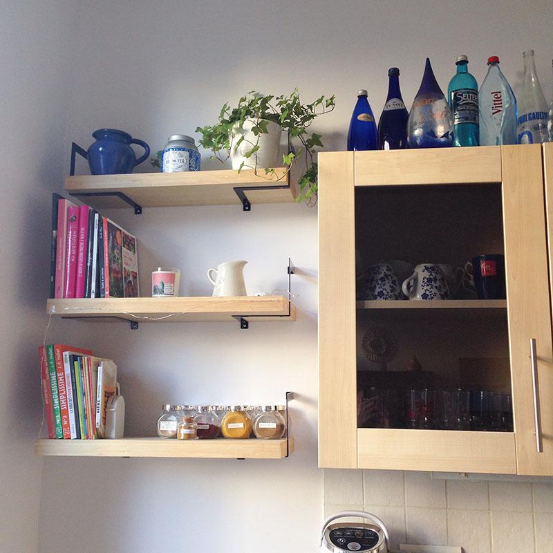 cuisine étagère