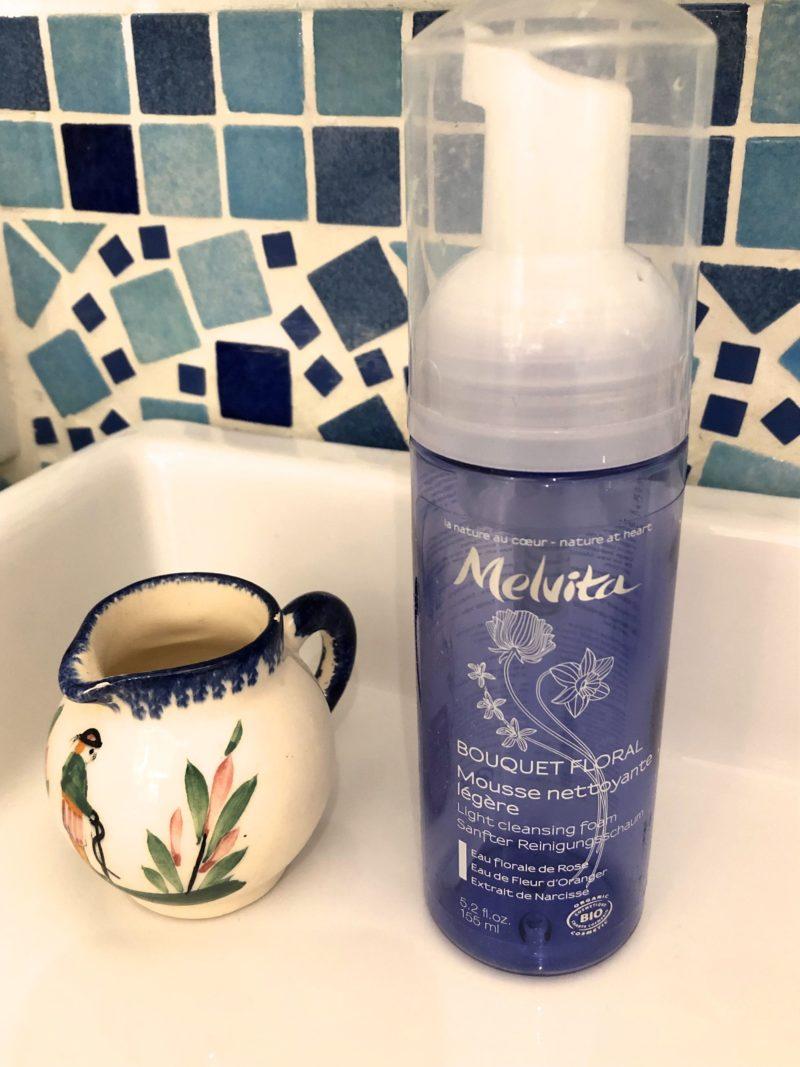 mousse nettoyante légère Melvita