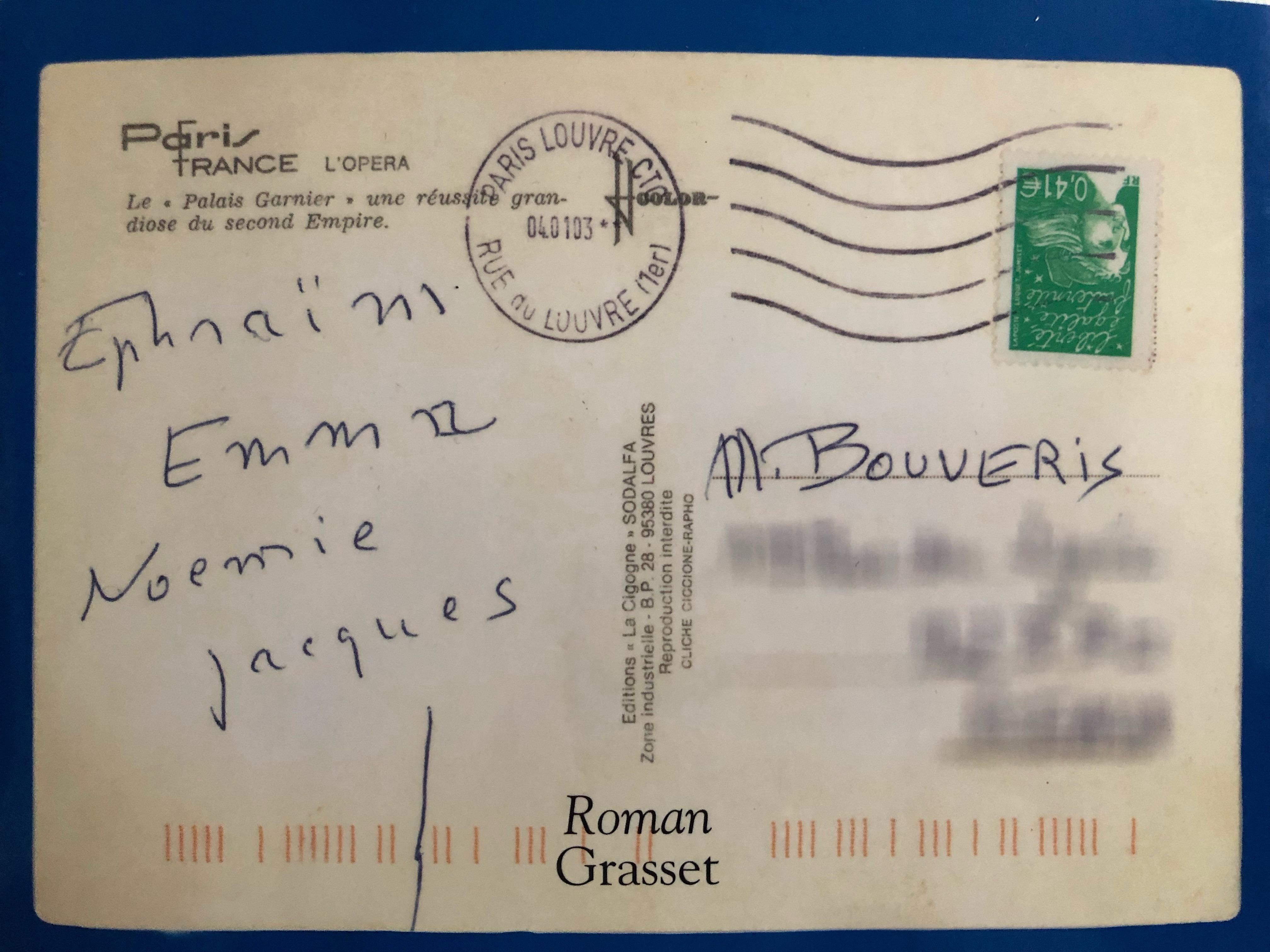 [Lecture] La carte postale, d'Anne Berest